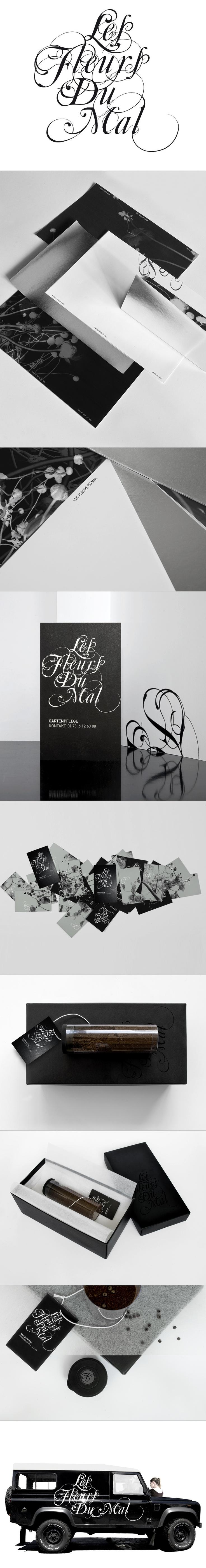 Les fleurs du mal | Corporate Design, Logoentwicklung, Geschäftsausstattung, Fotografie
