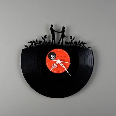vinyl wall clocks