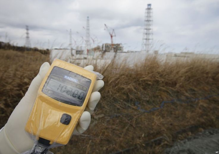 WHO: Health Risk from Fukushima Radiation Exposure Low A radiation monitor indicates 102.00 microsieverts per hour at Tokyo Electric Power Co. (TEPCO)'s tsunami-crippled Fukushima Dai-ichi nuclear power plant in Fukushima prefecture, northeastern Japan, Feb. 20, 2012.