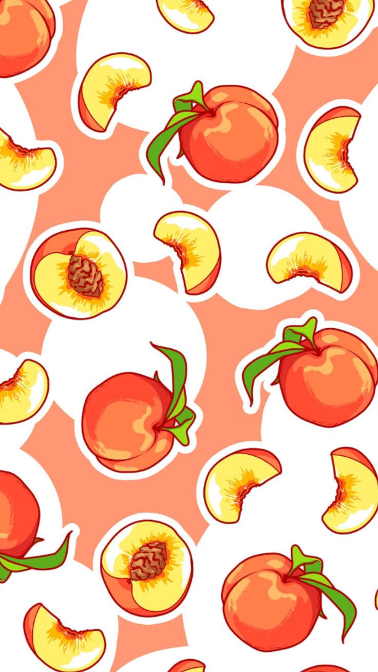 Wallpaper (With images) Peach wallpaper, Fruit wallpaper