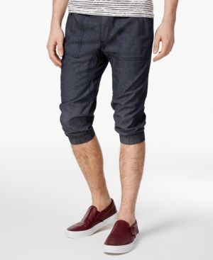 American Rag Men's Cropped Joggers, Only at Macy's - Blue 2XL