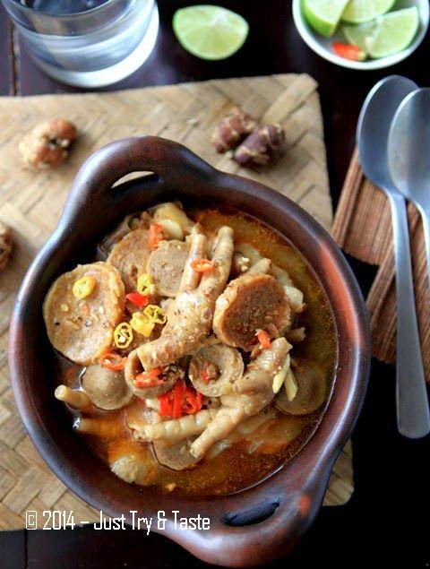 Seblak Basah Ceker Ayam dan Bakso a la JTT | Just Try & Taste