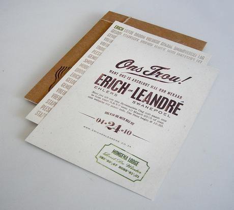 Fun vintage invitations - Canvas Stationery Boutique