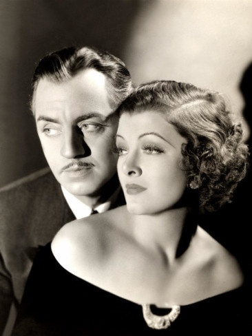 William Powell and Myrna Loy, aka Nick and Nora Charles. Love. My favorite Hollywood couple