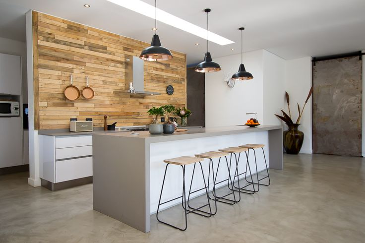 Caesarstone Kitchen of the Year 2016 | Local Category | Optima Kitchens design by Stefan Marais featuring Caesarstone Sleek Concrete