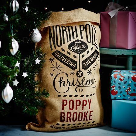 Personalised Santa Sacks - The Grenville Christmas Sack (Personalised), 80x53cm