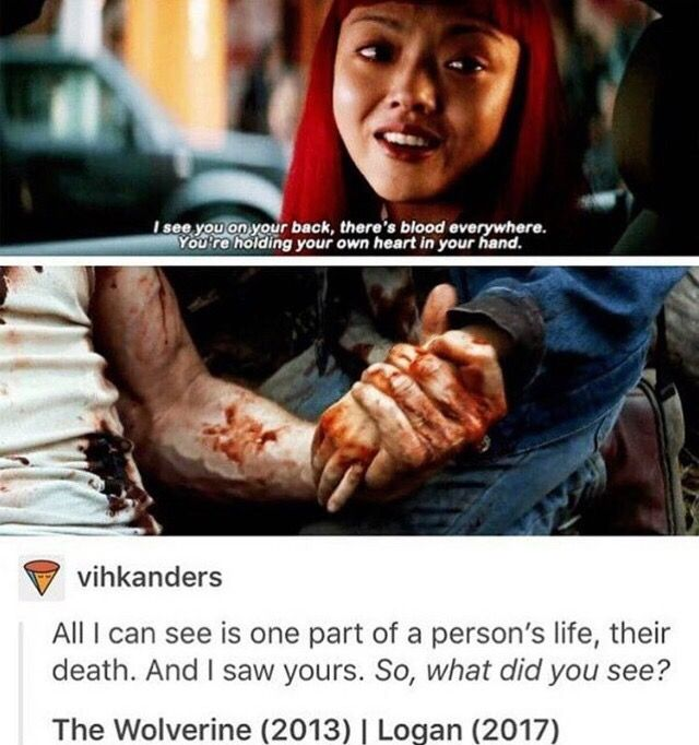 This literally redeems The Wolverine movie so much, this theory is my favorite!