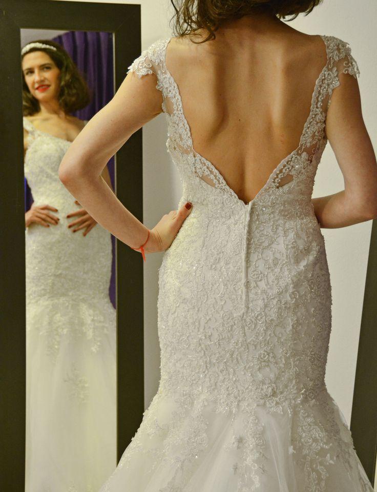 Vestido de novia Espalda http://noviaskarinyalexander.cl/