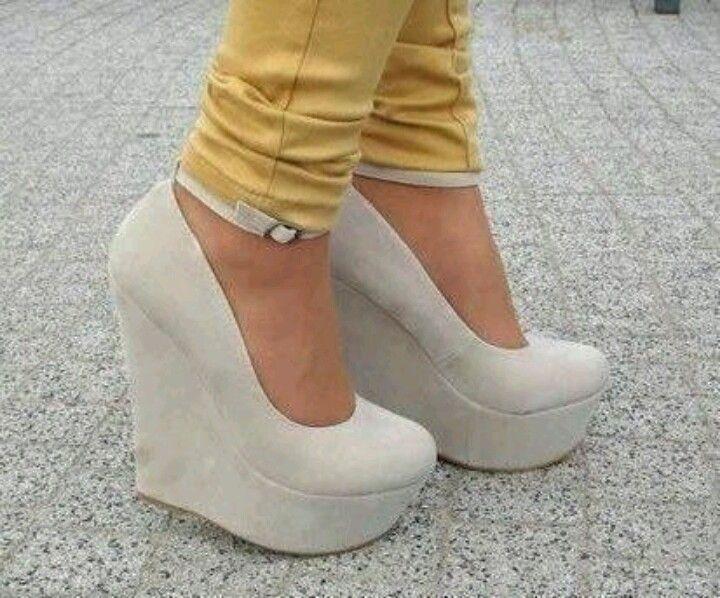 Zapatos De Tacon Corrido Blancos gugan.es