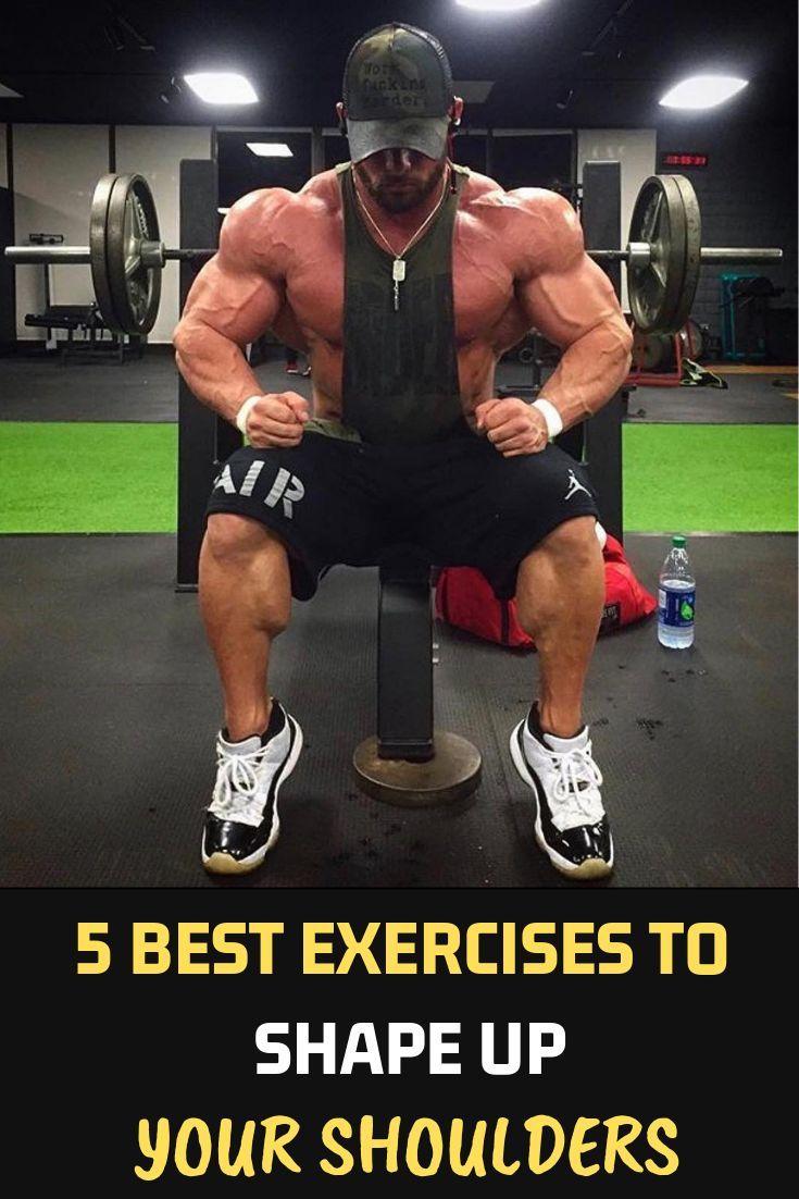 5 Best Exercises To Shape Up Your Shoulders Fitness Bodybuilding Gym Should Shoulder Workouts For Men Shoulder Workout Bodybuilding Shoulder Workout Women