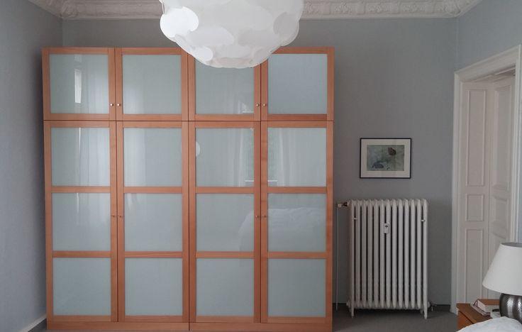 #Kleiderschrank mit #Glastüren # Möbel nach Maß