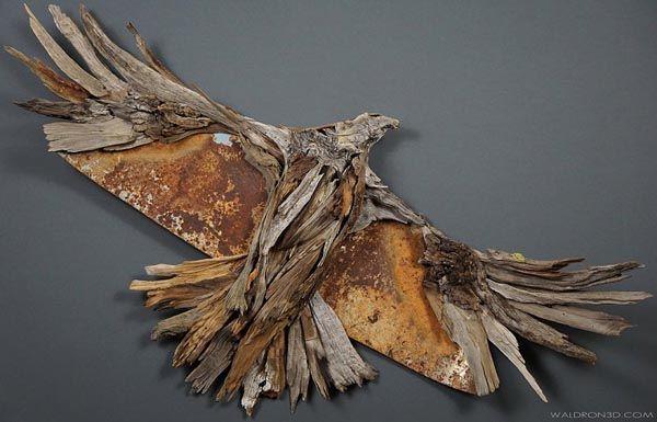 Джейсон Уолдрон, используя дары природы, создаёт необыкновенные деревянные скульптуры, с помощью которых художник выражает духовные преобразования внутри себя.