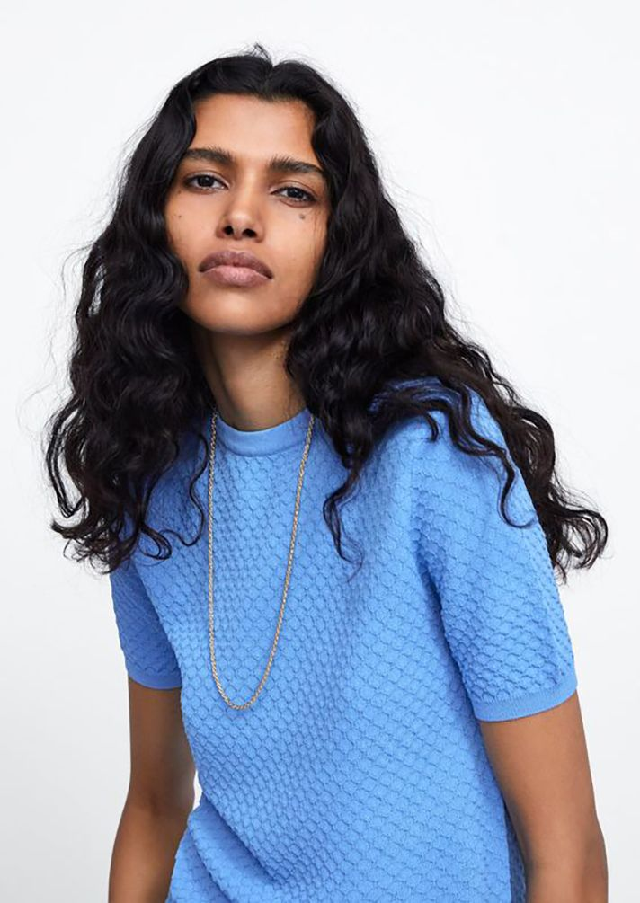 2cc3a132 @STYLECASTER's roundup of the best sweaters for spring 2019 | transitional  wardrobe and outfit ideas: @zara Textured Knit Sweater - under $50