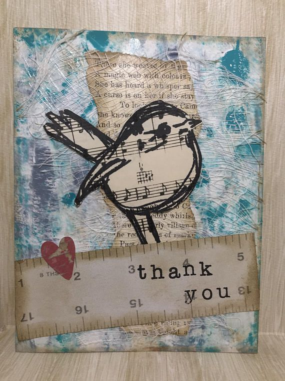 Thank You Card//Handmade Card