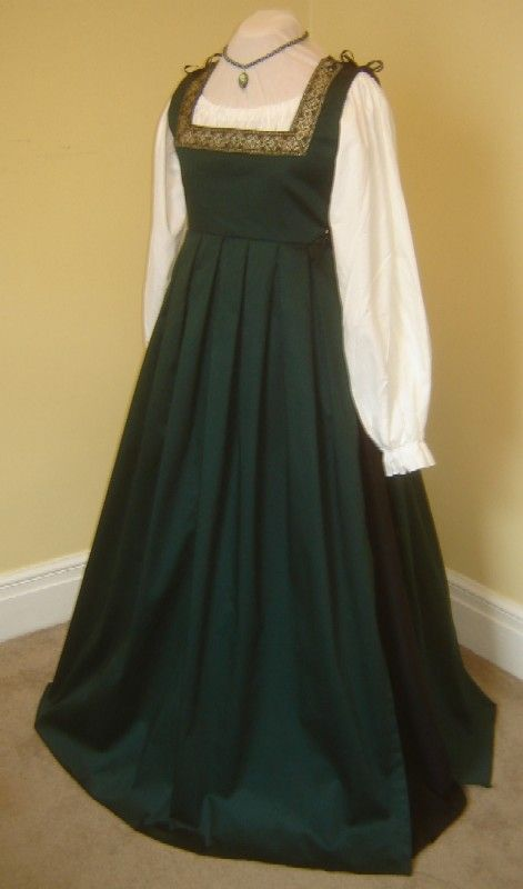 italian renaissance clothing | Renaissance Medieval Pirate Wench Side Lacing Italian Gown Dress