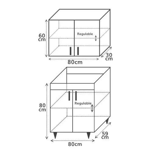Altura muebles altos cocina latest altura entre encimera - Altura encimera cocina ...