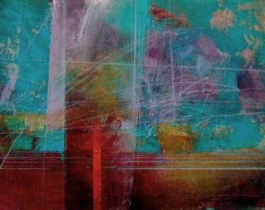 """Saatchi Art Artist Antoni Karwowski; Painting, """"Landscape   /on paper/"""" #art"""