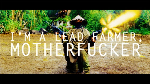 I'm a lead farmer mother fucker!