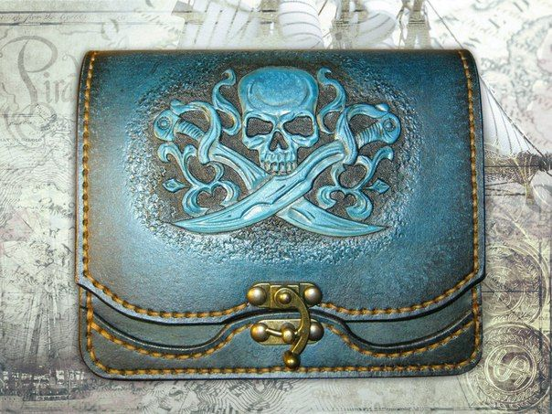 Best leather pouches images on pinterest