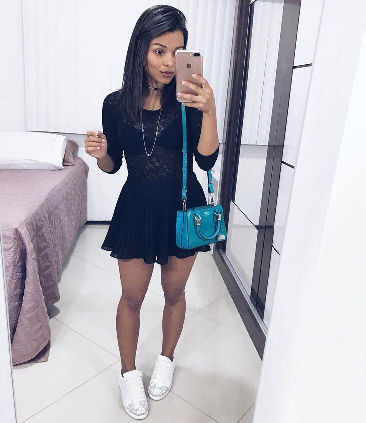 """7,153 curtidas, 47 comentários - Álice Vivianny (@alicevivianny) no Instagram: """"look completo  meu tênis  é @dicristalli"""""""