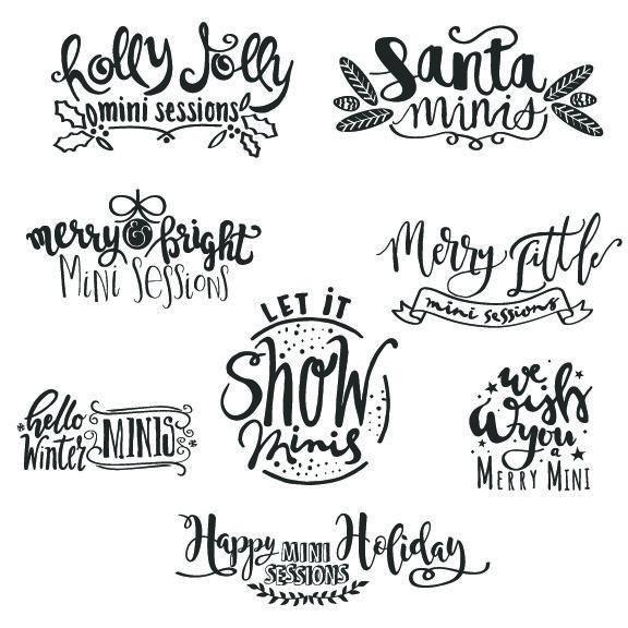 Word Art Mockaroon Lettered Calligraphy Handlettered