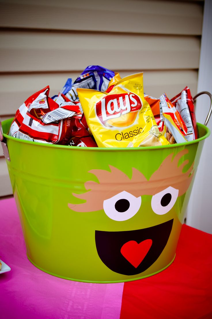Oscar The Grouch Ivy S 2nd Birthday Elmo Pinterest