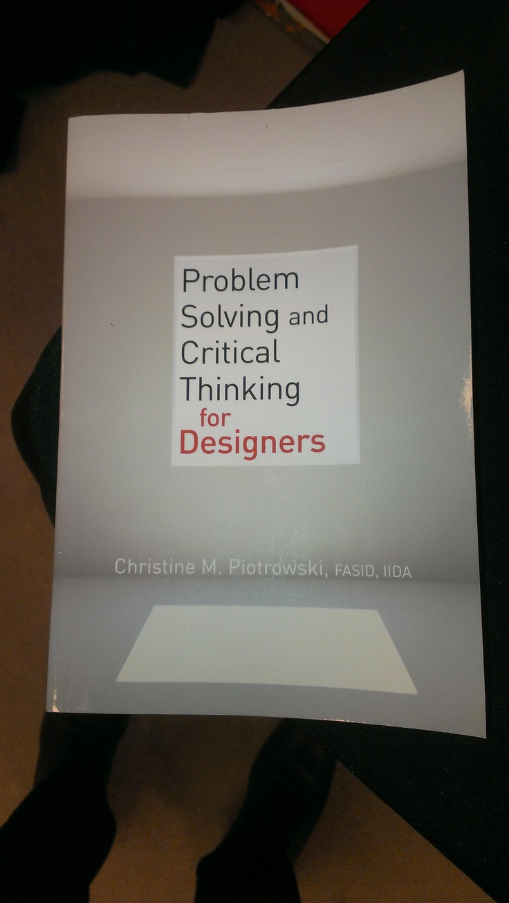 problem solving and critical thing