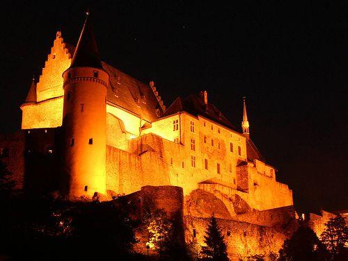 Vianden Castle, Luxembourg,