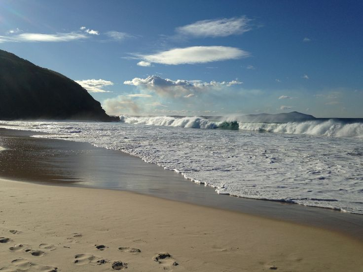 Elizabeth Beach NSW.