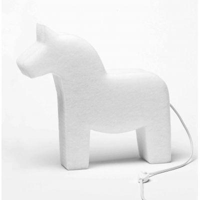 The Snowroom Lite-Horse    De sneeuwwitte lampen van The Snowroom zijn een ontwerp van de Zweedse designers Ulrika Liffner en Thorulf Lofstedt en vervaardigd van gerecyclede plastic flessen. Prachtig design met respect voor het milieu! De lampen hebben een zachte structuur en zijn verkrijgbaar in verschillende ontwerpen. De ...