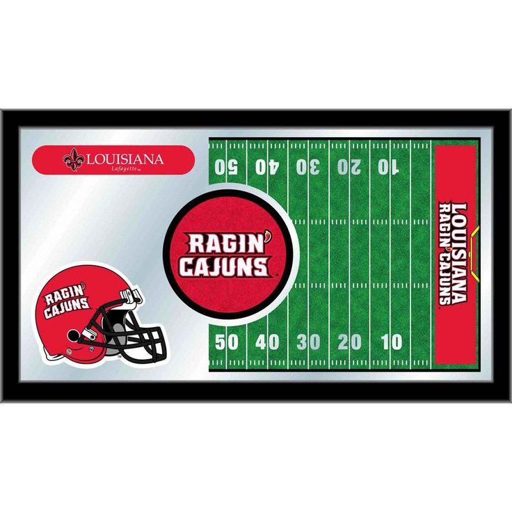 Louisiana Ragin' Cajuns Football Field Wall Mirror