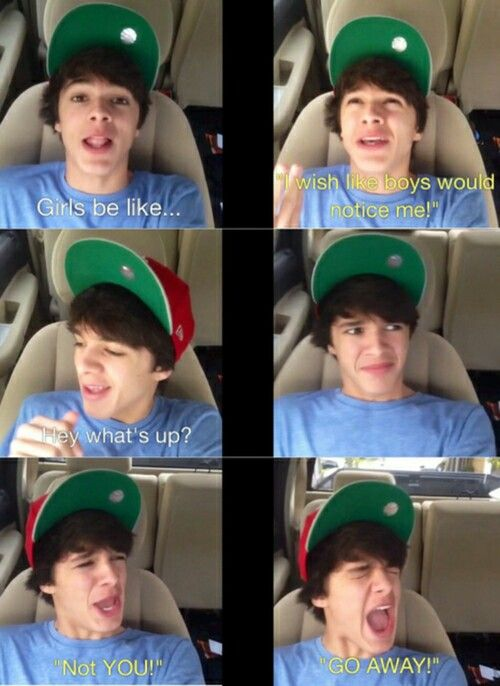 Who in the world would say that to him? I mean really who?