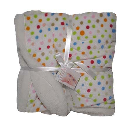Mora Blanket Globos | Oficina d'Artesã