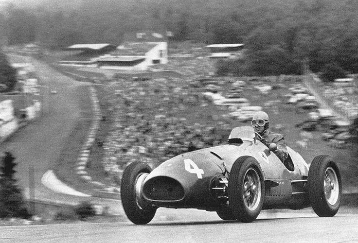 1952 Belgian GP - Alberto Ascari - Ferrari 500
