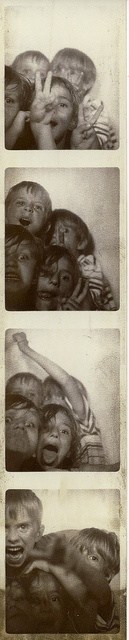 kids #vintage photo booth