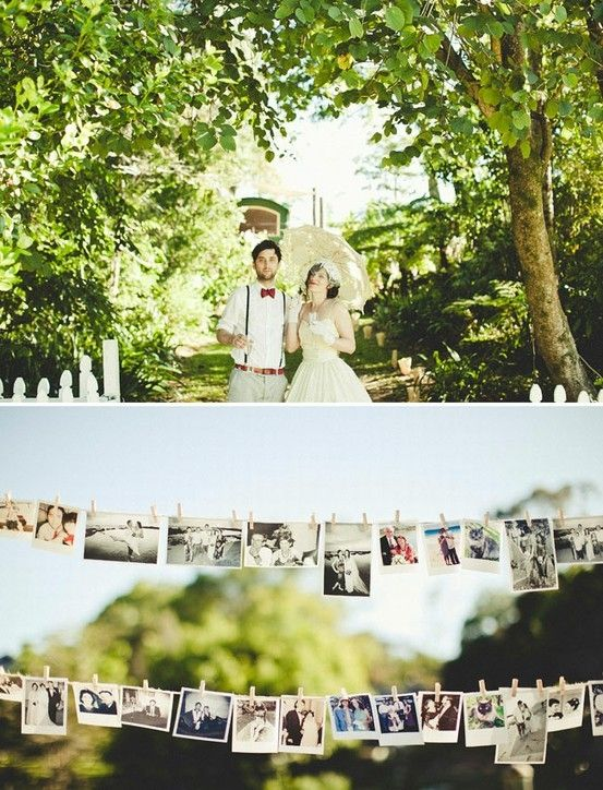 garden party australian wedding