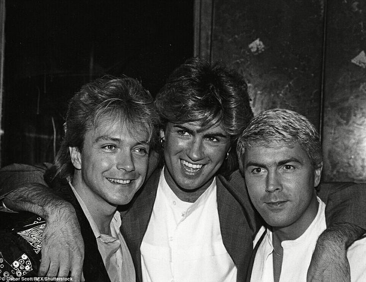 George Michael, David Cassidy and Mike Nolan
