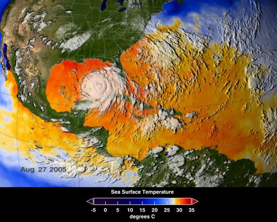 Hurricane Katrina History and Numbers (Infographic)