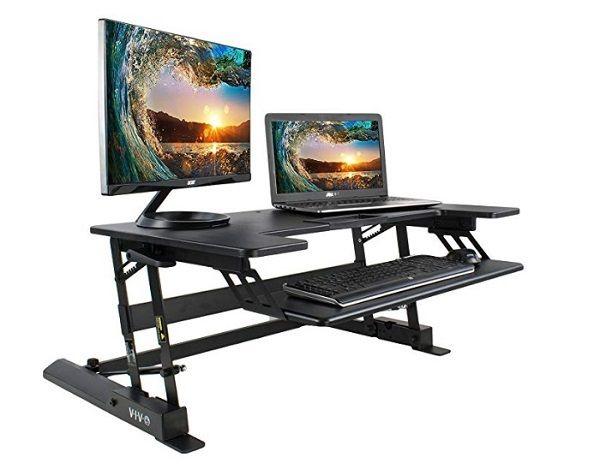 Best Electric Adjustable Standing Desks 2019 Updated Desk Riser