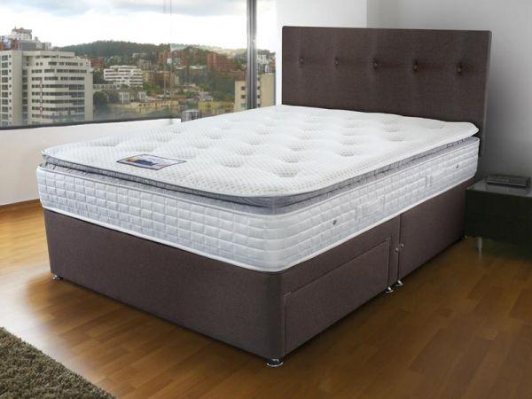 Sleepeezee Ortho Visco 2000 Double Divan Bed