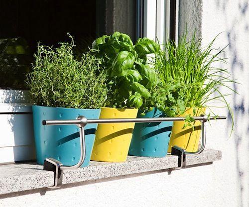 Cultiver Ses Plantes Aromatiques Sur Son Balcon Avec Fiskars