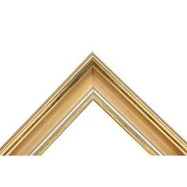 Nordic Antique Gold är en förgylld ram i härliga toner av guld. Riven för att ge en fin och genuin patina på ytan. Ramens bredd mäter hela 45 millimeter. Passar mycket bra om du vill ha exklusiva ramar i guld. Passar lika bra för konst som för fotografier. Bredd: 45 mm. Höjd: 32 mm. Falsdjup: 7 mm.