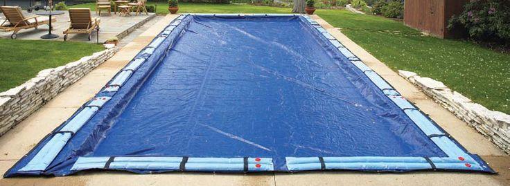 Inground Pool Winter Covers