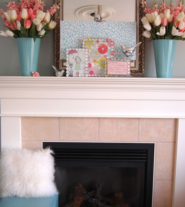 Best Mantel Decorating Ideas Images On Pinterest Decorating