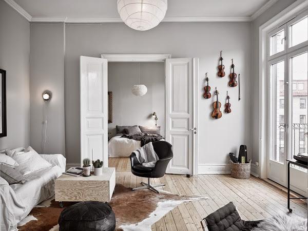 Una inspiradora decoracion.......con música