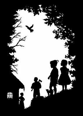 Hansel and Gretel Silhouette