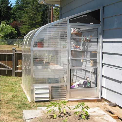 SunGlo 1500 Series Lean-To Greenhouse Kit