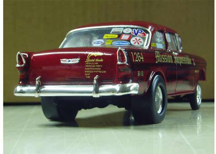 """More 55 Chevy Gasser """"Mission Impossible"""" model and"""