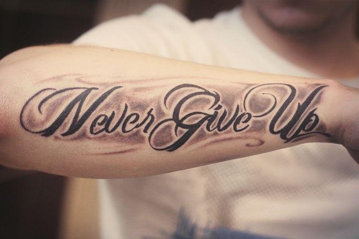 resultado de imagen para tattoo never give up futuros tattos pinterest tattoo tatoo and. Black Bedroom Furniture Sets. Home Design Ideas