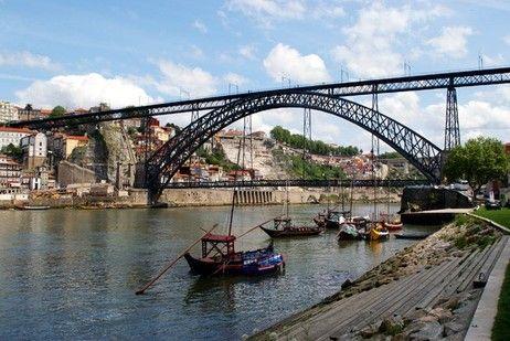 Ponte Luís I - Oporto, Porto, Portugal